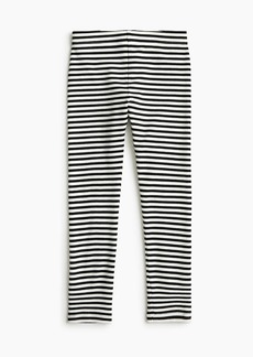 J.Crew Girls' everyday leggings in stripes