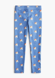 J.Crew Girls' everyday leggings in unicorns