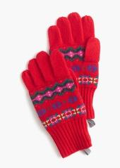 J.Crew Girls' Fair Isle gloves