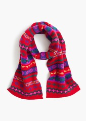 J.Crew Girls' Fair Isle scarf
