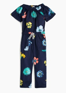 J.Crew Girls' floral jumpsuit