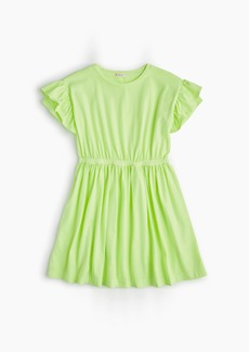 J.Crew Girls' flutter-sleeve dress