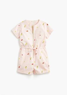 J.Crew Girls' fruit-printed jumpsuit