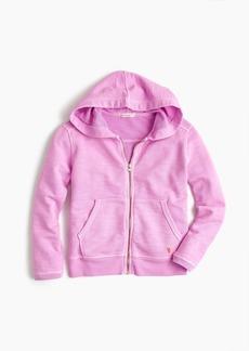 J.Crew Girls' garment-dyed hoodie