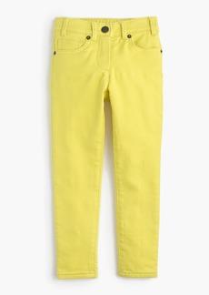 J.Crew Girls' garment-dyed runaround jeans