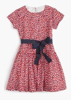 J.Crew Girls' heart-print dress
