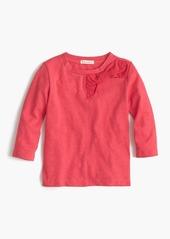 J.Crew Girls' holiday bow T-shirt