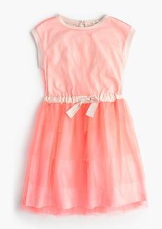 J.Crew Girls' layered tulle dress