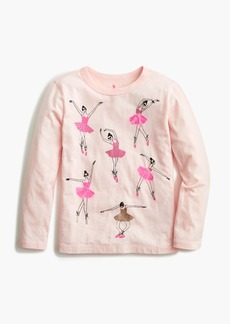 J.Crew Girls' long-sleeve ballerina T-shirt