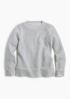 J.Crew Girls' Lurex® crewneck sweater