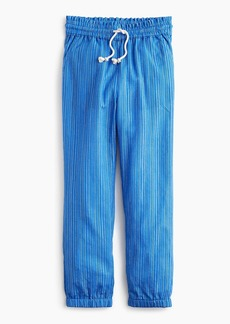 J.Crew Girls' Lurex® drawstring pant