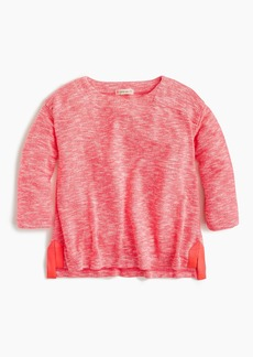 J.Crew Girls' marled T-shirt