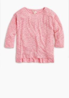 J.Crew Girls' marled T-shirt