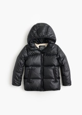 J.Crew Girls' marshmallow puffer jacket