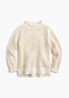 J.Crew Girls' open-knit beach sweater