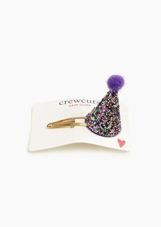 J.Crew Girls' party hat hair clip