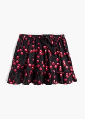 J.Crew Girls' pull-on skirt in cherry print