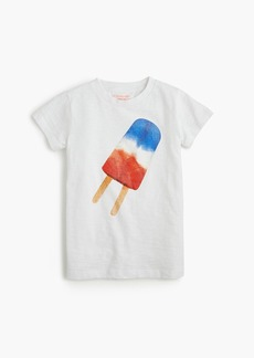 J.Crew Girls' red, white and blue ice pop T-shirt