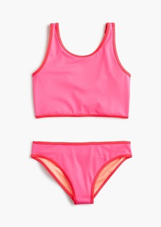 J.Crew Girls' reversible tankini set