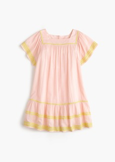 J.Crew Girls' rickrack-trimmed dress