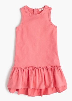 J.Crew Girls' ruffle-hem dress