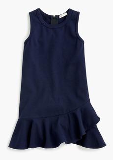 J.Crew Girls' ruffle-hem dress