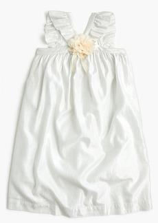 J.Crew Girls' ruffle-strap dress