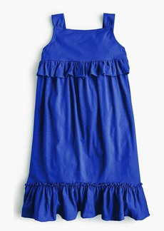 J.Crew Girls' ruffle tank dress