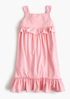 J.Crew Girls' ruffle tank dress