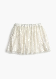 J.Crew Girls' sequin skirt