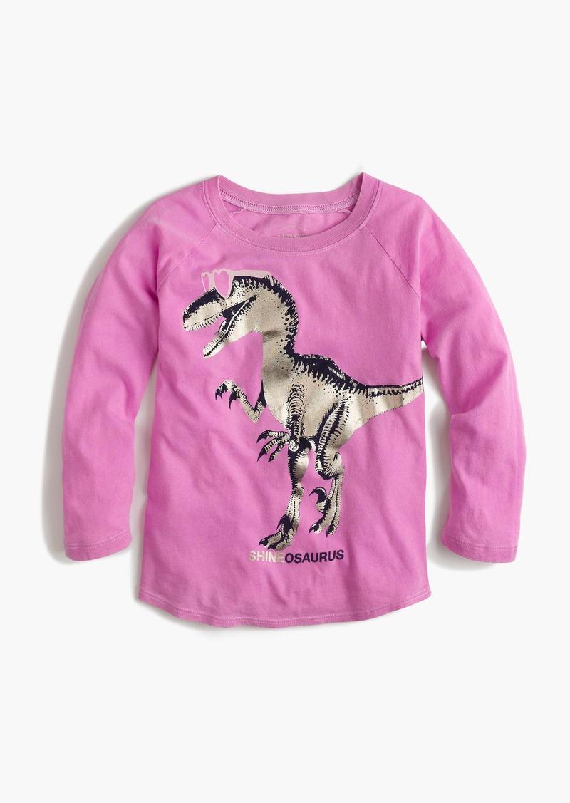 "J.Crew Girls' ""Shineosaurus"" T-shirt"