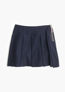 J.Crew Girls' side-zip flannel skirt