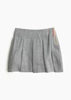 J.Crew Girls' side-zip flannel skirt