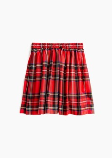 J.Crew Girls' skirt in red tartan