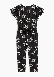 J.Crew Girls' star-printed jumpsuit