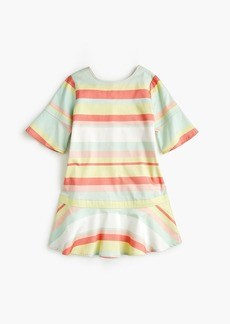 J.Crew Girls' striped drop-waist dress
