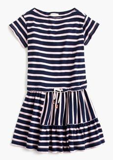 J.Crew Girls' striped panel dress