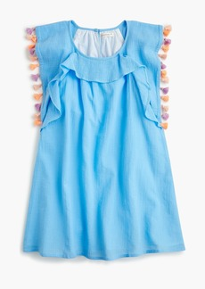 J.Crew Girls' tassel-trimmed dress