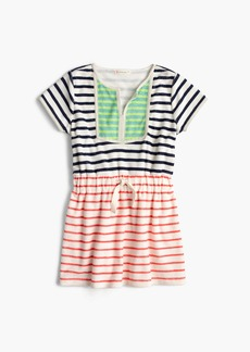 J.Crew Girls' terry dress in mash-up