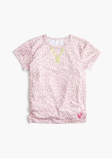 J.Crew Girls' tie-back performance T-shirt