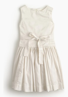 J.Crew Girls' tie-waist dress