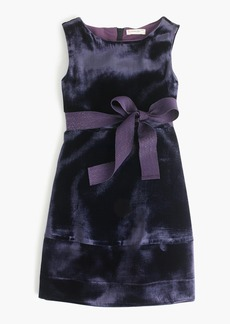 J.Crew Girls' velvet dress