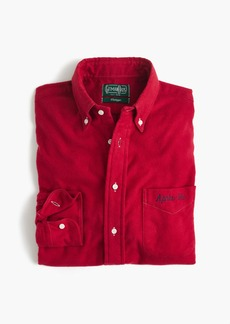 Gitman Vintage™ for J.Crew embroidered flannel shirt