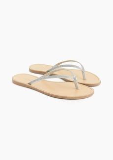 J.Crew Glitter Capri sandals