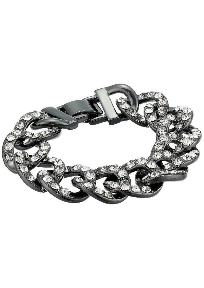 J.Crew Glitz Pave Chain Bracelet