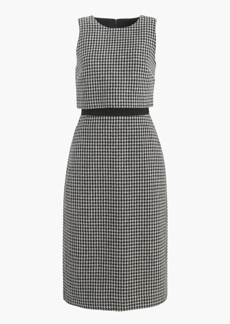J.Crew Going-places dress in houndstooth