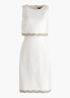 J.Crew Going-places dress in linen