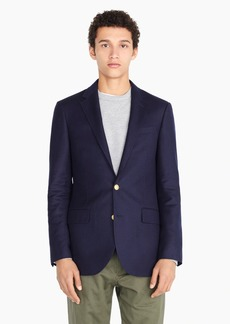 J.Crew Ludlow Slim-fit Legacy gold-button blazer in American wool