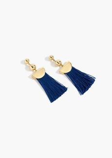 J.Crew Gold tassel earrings