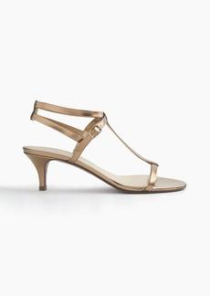 J.Crew Greta metallic sandals